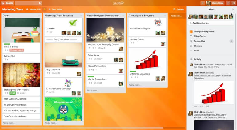 Trello Task Management Software