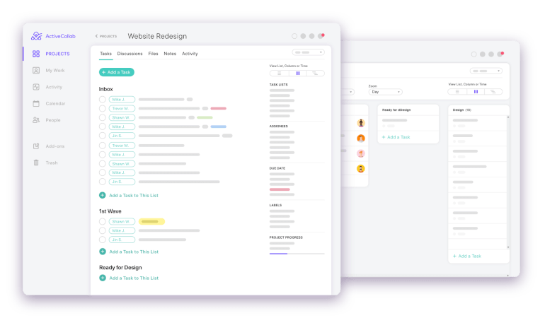 Active Collab Project Management Software