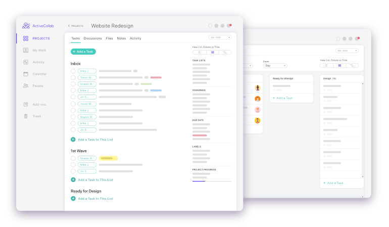 activecollab to-do list app
