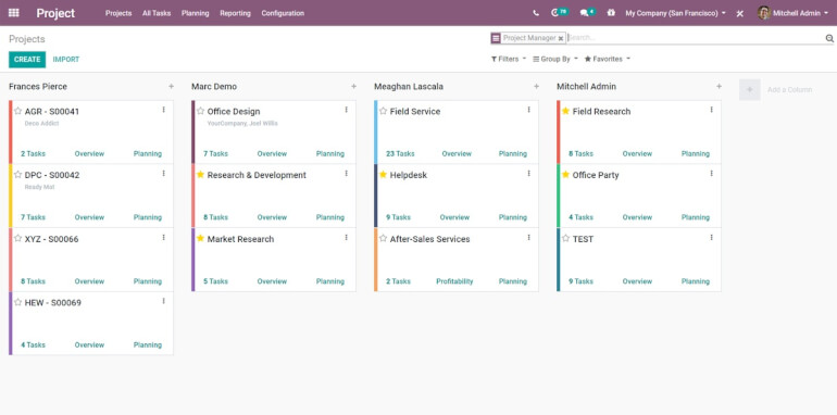 Odoo Business Management Software
