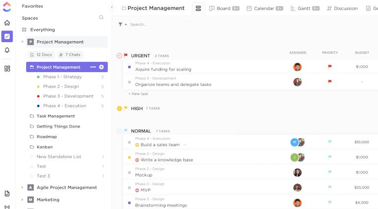 Clickup Work Management Software