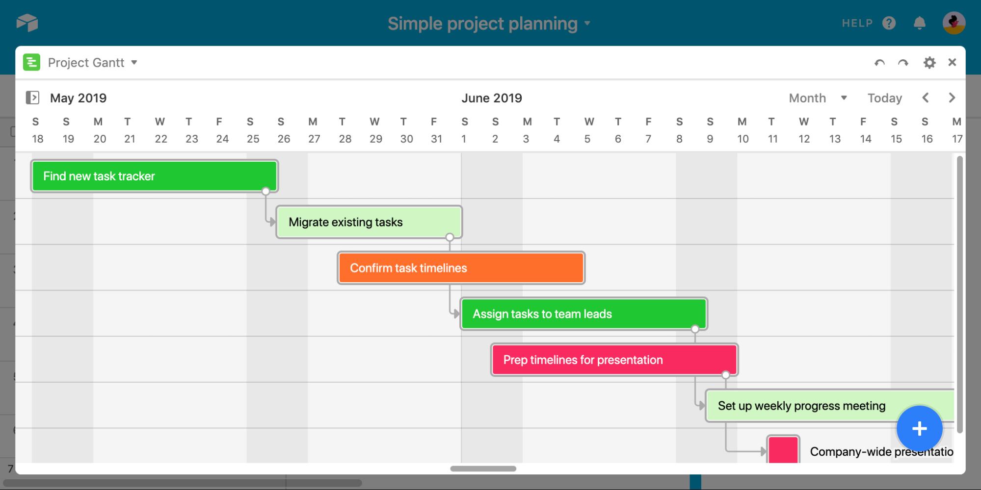 Airtable Gantt Chart Software